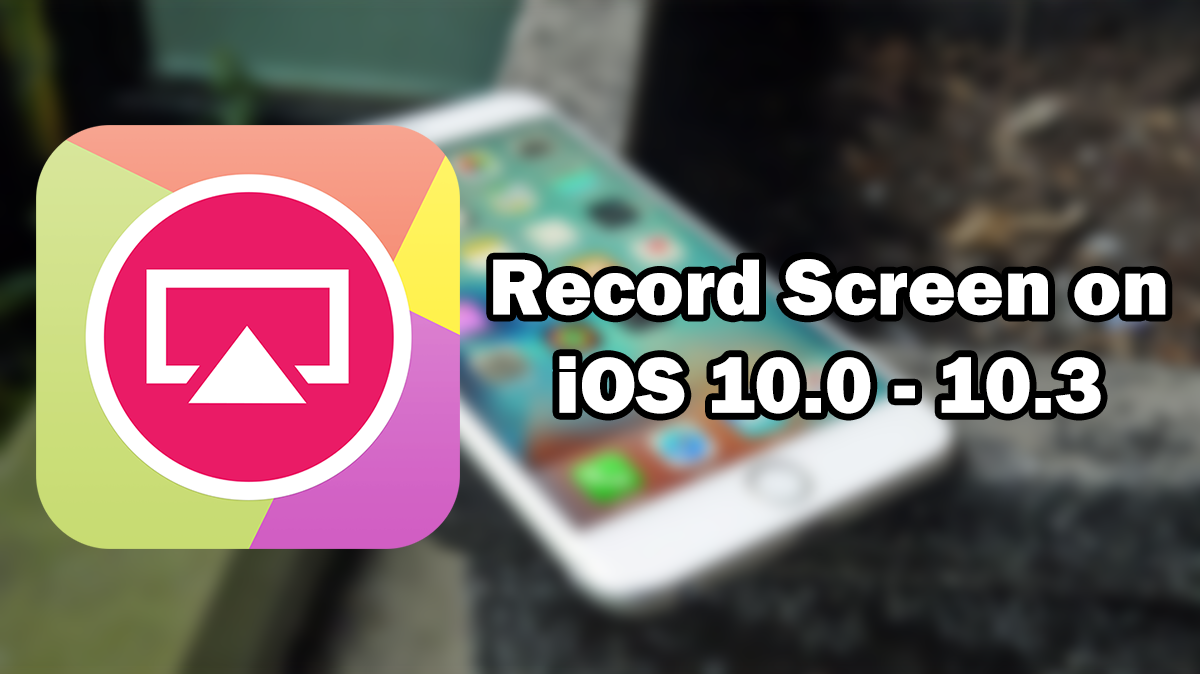 record screen iphone 10
