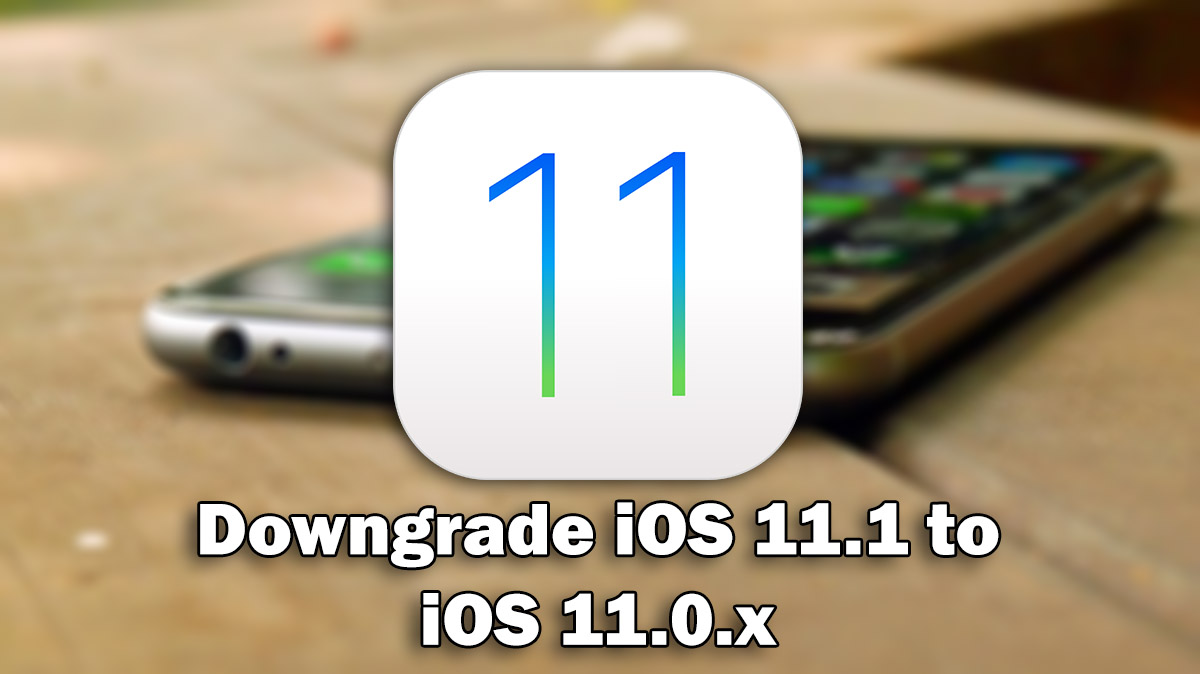 IOS IPSW TÉLÉCHARGER 11.0.1