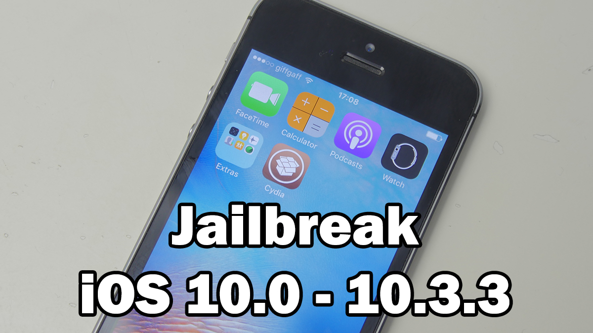 How to Jailbreak iOS 10 0 – 10 3 3 Using h3lix on iPhone 5 / iPhone