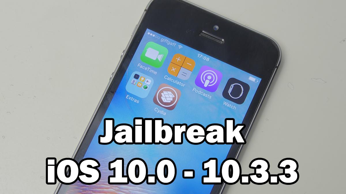 ios 10 3 3 jailbreak untethered