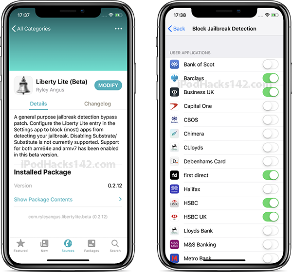 How to Bypass Jailbreak Detection on UK Banking Applications (iOS 12